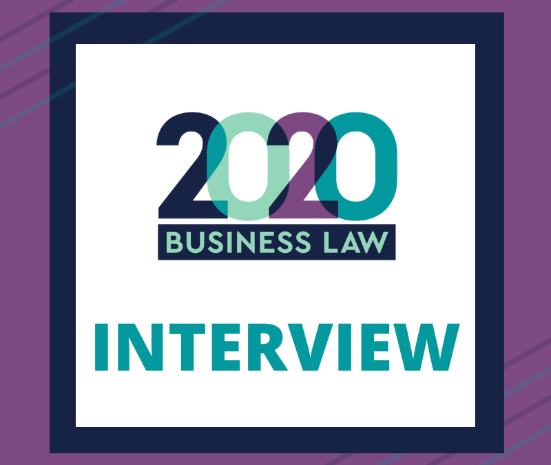 2020 Business Law Interview Chris Waters