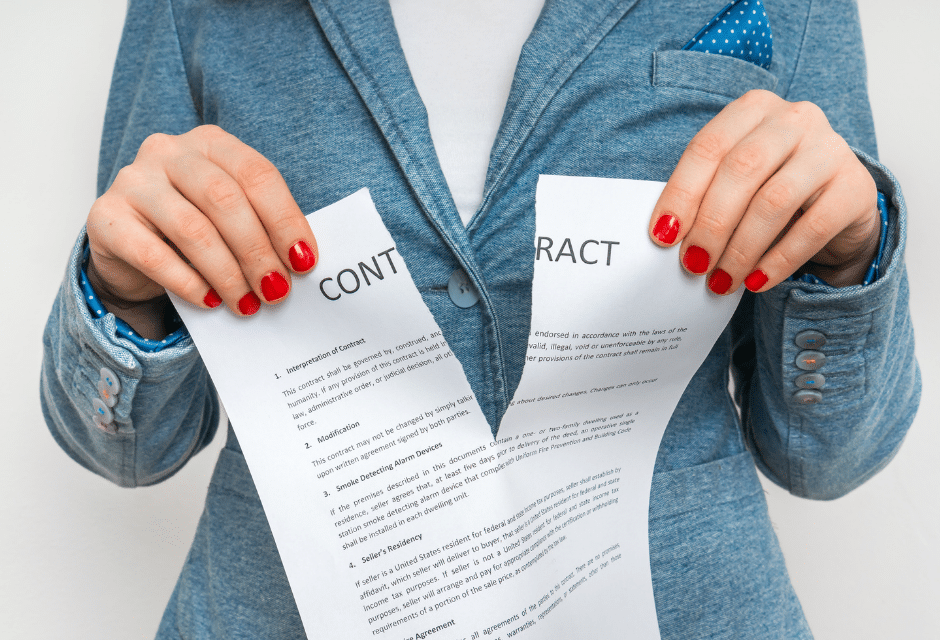Calling it Quits – Termination of Contracts